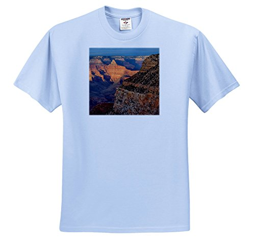Canyon Rim 3 Light (3dRose Danita Delimont - Canyons - Arizona, Grand Canyon National Park, South Rim - T-Shirts - Youth Light-Blue-T-Shirt XS(2-4) (TS_258723_59))