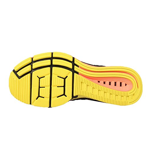 Nike Air Zoom Odyssey Chaussures De Course Noir / Rouge / Jaune