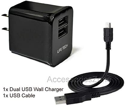 AC//DC Adapter Wall Charger Power Supply USB Cord For Dell Venue 7 Tablet PC