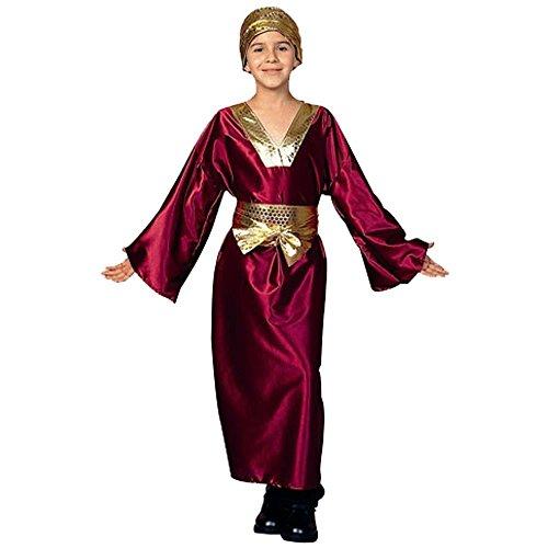 Kid's Wine Wiseman Biblical Costume (Size: Medium 810) (Child Wiseman Costume)