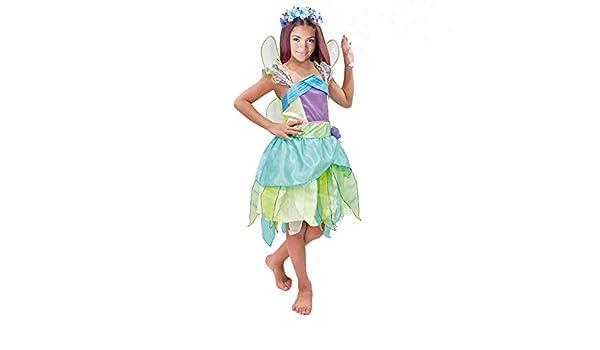 Disfraz Hada Verde niña infantil para Carnaval: Amazon.es ...
