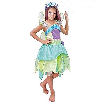 6e045cb42 Disfraz Hada Verde niña infantil para Carnaval: Amazon.es: Juguetes y juegos