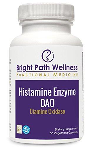Histamine Enzyme – Diamine Oxidase – 60 Vegetable Capsules – 30 Servings – Non-GMO, Gluten Free
