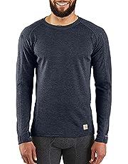 Carhartt Mens Men's Force Heavyweight Polyester-Wool Base Layer Long Sleeve Shirt