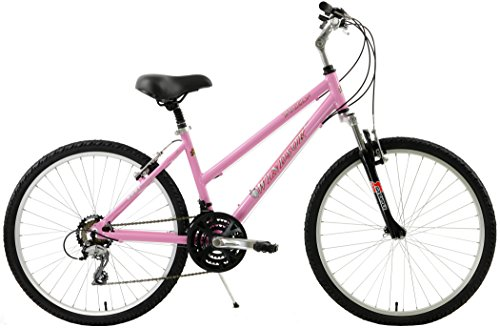 Windsor Rover 2.0 Hybrid 700c Comfort Bike Shimano 21 Speed with Suspension Fork, Flat Bars and Comfort Seat (Pink, 14in Ladies) Review