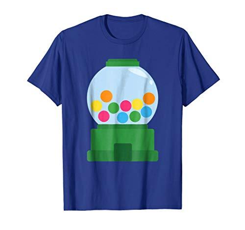 Bubble Gum Dispenser Costume Chew Candy Halloween T-Shirt -