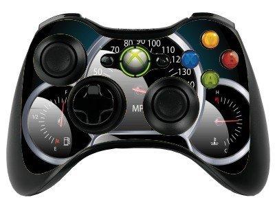 the grafix studio Car Dashboard Xbox 360 Remote Controller/Gamepad Skin / Vinyl Cover / Vinyl Wrap Xbr40