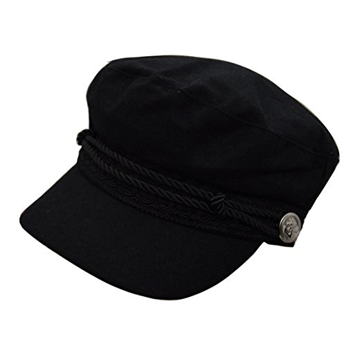 REGITWOW Women's Warm Wool newsboy Cabbie Cap Painter Cap Hats With Visor