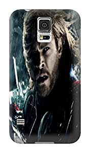 2021 New Waterproof Shockproof Dirtproof Snowproof fashionable Chris Hemsworth Thor TPU Protection Case for Sumsang Galaxy s5
