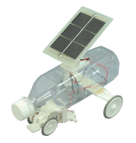 Plastic bottle solar car (japan import)