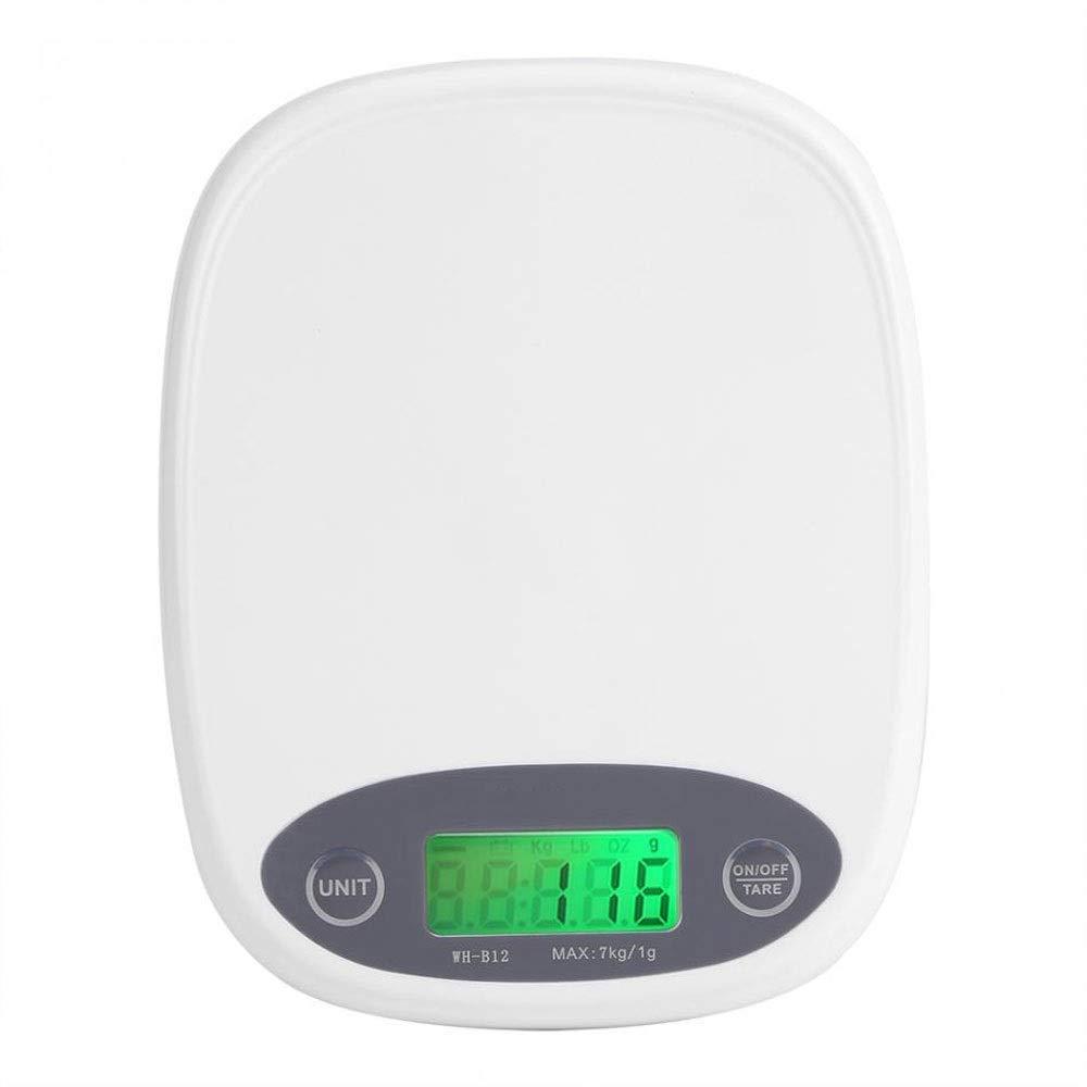 MILAIDI Digital Kitchen Scale Baking Backlight 7Kg 1G Said Electronic Platform by MILAIDI