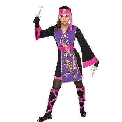 Sassy Samurai Costume Age 8-10 Years -