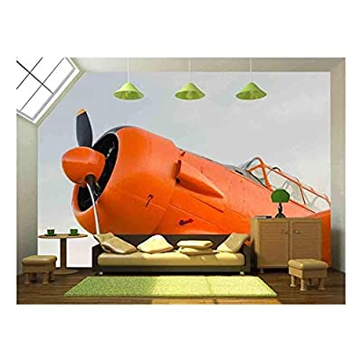 Incredible Design, Adventure in The Sky Old Airplane Orange North American T 6G Texan, That You Will Love