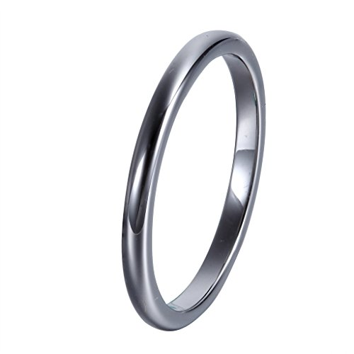 L Ring Tungsten Simplified Charming Polished