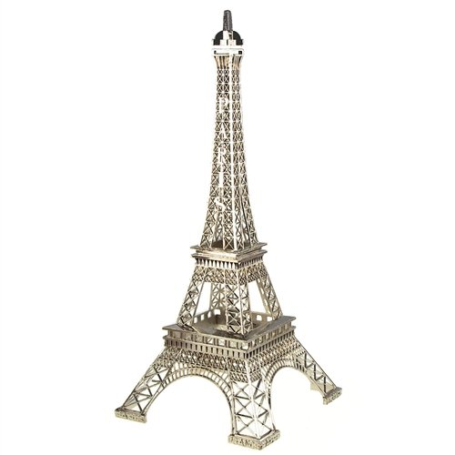 Homeford FNS007006SIL Tall Metal Eiffel Tower Paris France, 20
