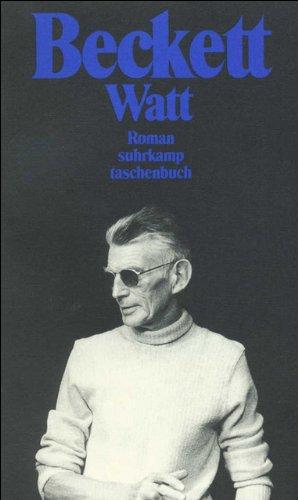 Gesammelte Werke in den suhrkamp taschenbüchern: Watt. Roman (suhrkamp taschenbuch)