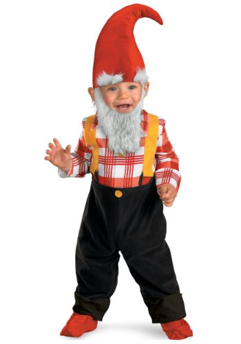 Costumes For All Occasions Dg50034W Garden Gnome Toddler 12-18 Mth