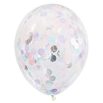 amazon com alexis mattox design 14 confetti party balloons