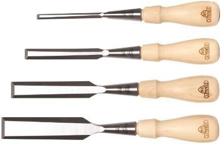 Stanley 16-791 Sweetheart 750 Series Socket Chisel Set, Brown, 4 - Piece Size: 4-Piece, Model: 16-791, Outdoor & Hardware Store