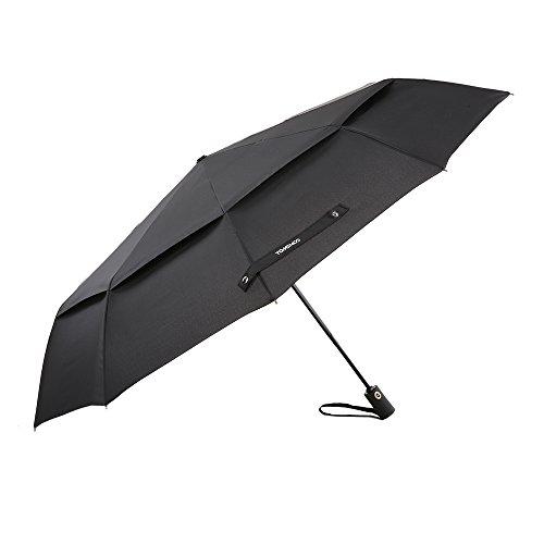TOMSHOO Umbrella Windproof Travel Folding
