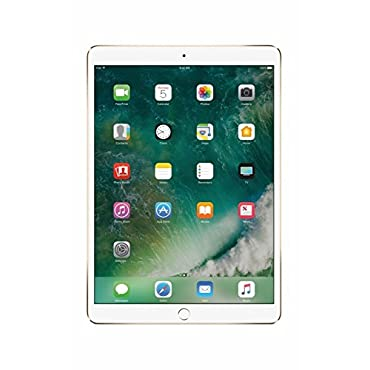 Apple iPad Pro 10.5 256GB Wifi 2017 Model Gold (Certified Refurbished)