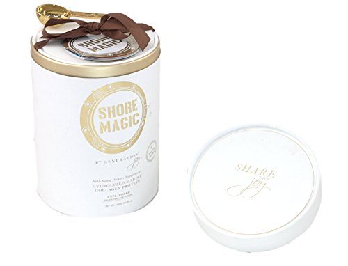 Shore Magic Pure Premium ONE INGREDIENT LUXURY Hydrolyzed Marine Collagen Powder (1200 Gram, Four Month Supply) by Shore Magic® (Image #5)