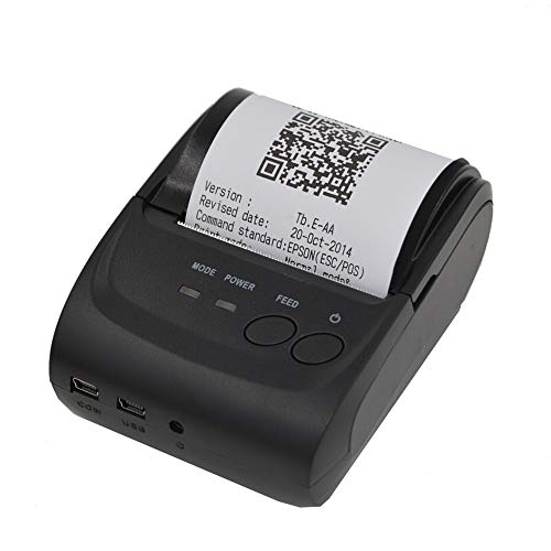 Ciyoon 2019 High End US Ship Mini 58mm Bluetooth Wireless Mobile POS 5802DD Thermal Receipt Printer