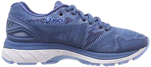 Running Para 20 401 De azure Mujer white Asics Azul nimbus Gel Zapatillas qwAUAp