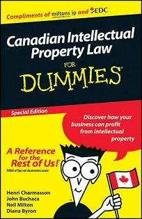 Canadian IP Law For Dummies, Custom Edition