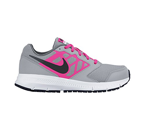 Nike 659257 001, Men's Running Gris / Black / Rosa / Blanco (Wolf Grey / Black-hyper Pink-wht)