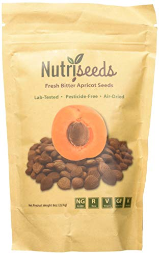 Fresh Bitter Raw Apricot Seeds | 100% Natural | 8oz Bag