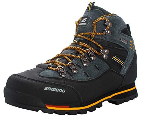 Nero Scarpe Sneakers Escursionismo Arrampicata Passeggiata All aperto Da  Sportive Uomo Trekking Giallo Insun Swq8v5R ... 2d7877678c5