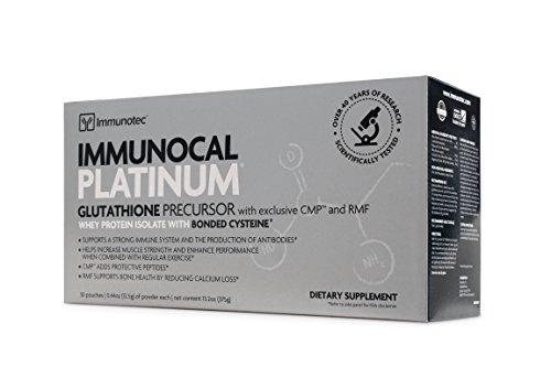 - IMMUNOCAL PLATINUM - BIOACTIVE WHEY Protein - GLUTATHIONE - Immune Support