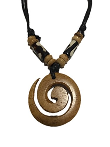 Tibetan Adjustable Handmade Yak Bone Necklace.