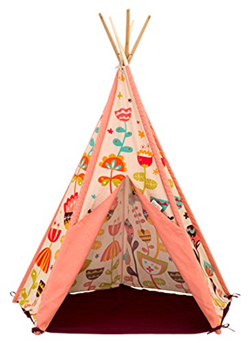 SagePole Act-007 Play Tent, Sweet Garden, 59