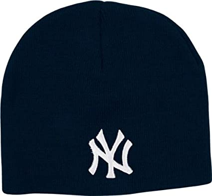 b6a451356f8 Image Unavailable. Image not available for. Color  MLB New York Yankees  Men s Raised Knit ...