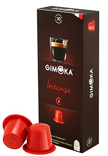 Gimoka 100 pack Coffee Capsule Compatible with the Nespresso OriginaLine Machine Variety pack