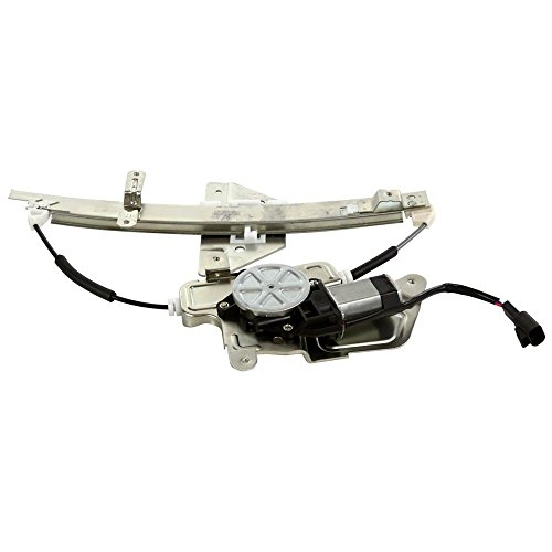 MILLION PARTS Rear Right Side Power Window Regulator with Motor fit for 1999 2000 2001 2002 2003 2004 Oldsmobile Alero & 1999-2004 Pontiac Grand Am Sedan 4-Door (Parts Alero)
