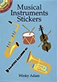 Musical Instruments Stickers (Dover Little Activity Books Stickers)