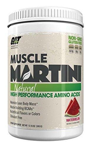 GAT - Músculo Martini Natural High rendimiento aminoácidos sandía - 12.16 oz.