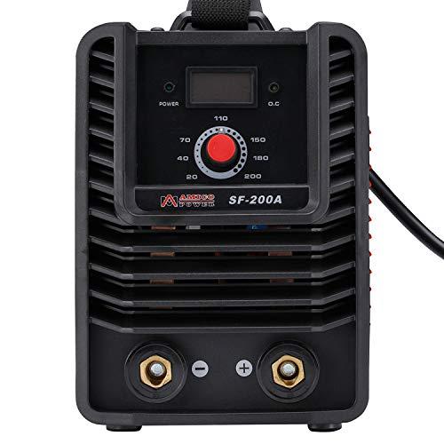 SF-200A, 200 Amp Stick ARC DC Inverter Welder, IGBT Digital Display LCD 110V & 230V Dual Voltage Welding Machine