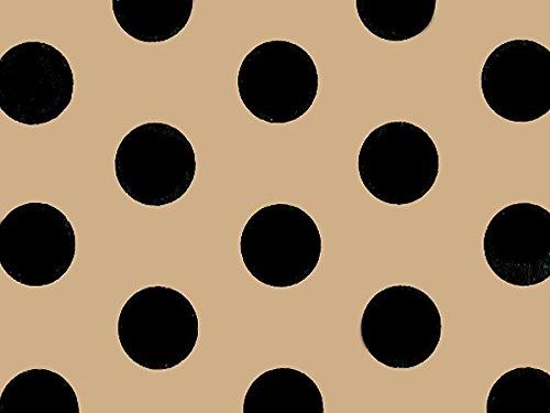 Tan Polka Dot - 6