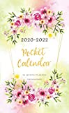 2020-2022 Pocket Calendar: Watercolor Flower Frame | 36 Month Planner | 3 Year Appointment Calendar | Monthly Planner | Business schedule Planner | ... Supplies (Three Year Monthly Pocket Planner)