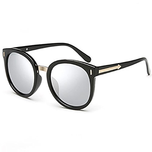 Gafas Mujer Sol de 1 personales Gafas Sol Moda de 2 Box Color Big Grey Gafas DT 4dqAT4