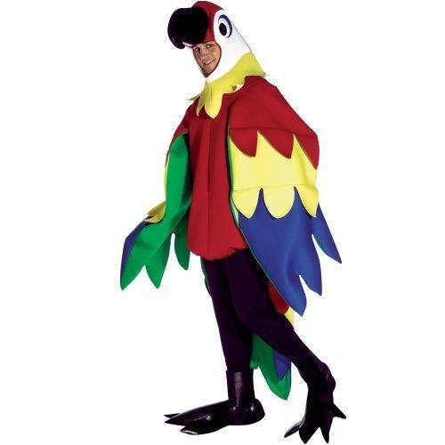 [Parrot Deluxe Adult Costume] (Deluxe Parrot Costumes)