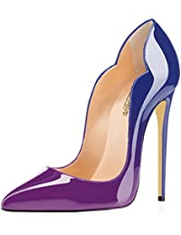 Amazon.com: Purple - Pumps / Shoes: Clothing, Shoes & Jewelry