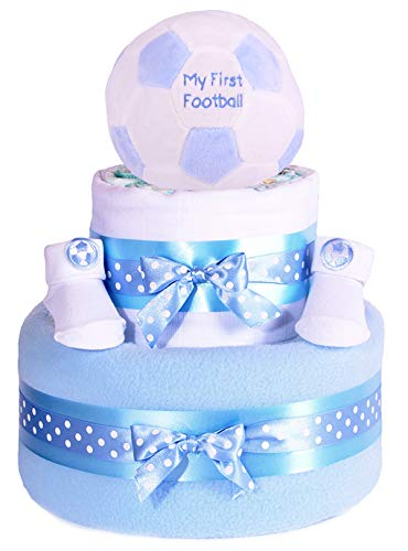 Mi primera pelota de fútbol Star de fútbol para pie azul niños ...