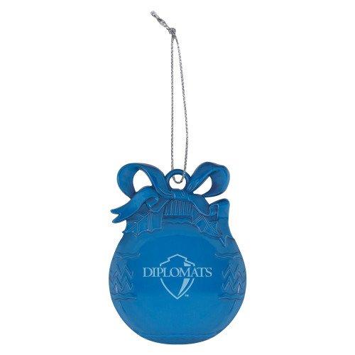 CollegeFanGear Franklin /& Marshall Royal Bulb Ornament Diplomats Official Logo Engraved