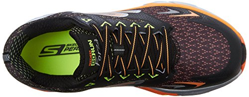 Skechers Performance Mens Go Run Forza Boston 2016 Scarpa Da Corsa Nera
