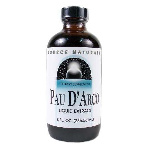 Source Naturals PAU D'Arco Liquid Extract, 8 Glass Ounce